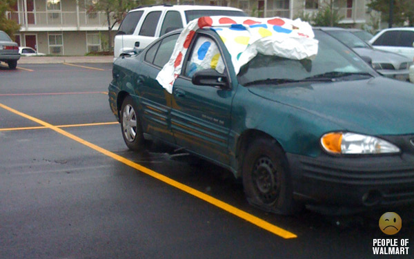 Tagged with: astro van, cammo car, Cars of Wal-Mart, cars of walmart,  jaguar bug, redneck car, trailer trash, wal-mart, white trash