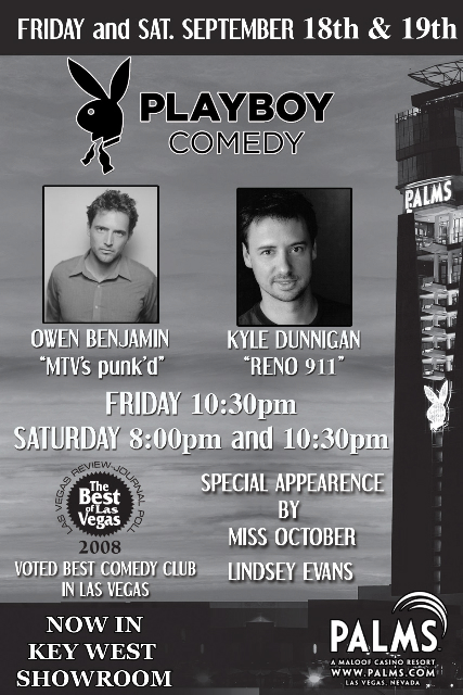 Playboy Comedy Show @ The Palms